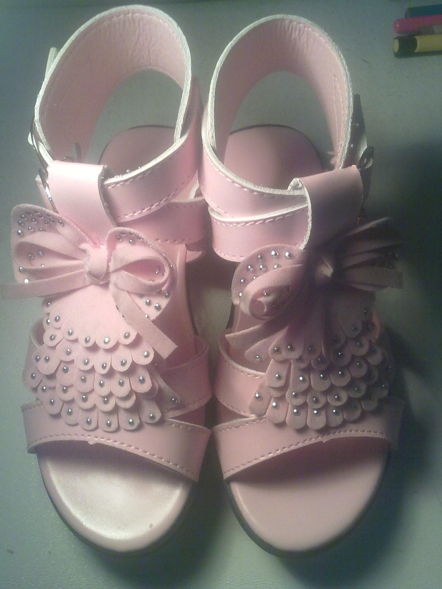 粉红公主鞋