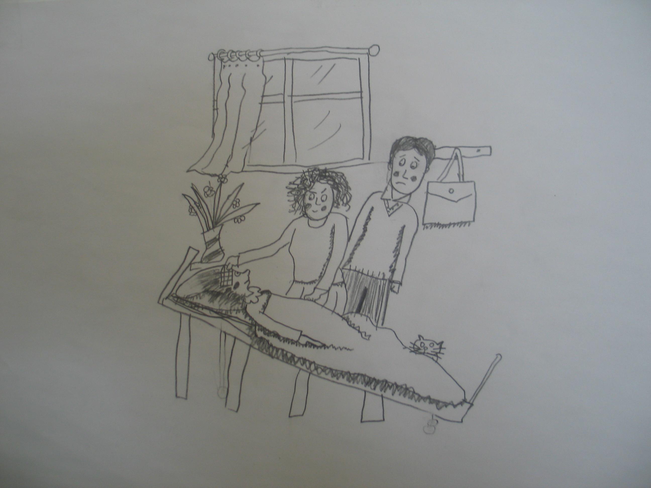 简笔画 手绘 素描 线稿 2592_1944
