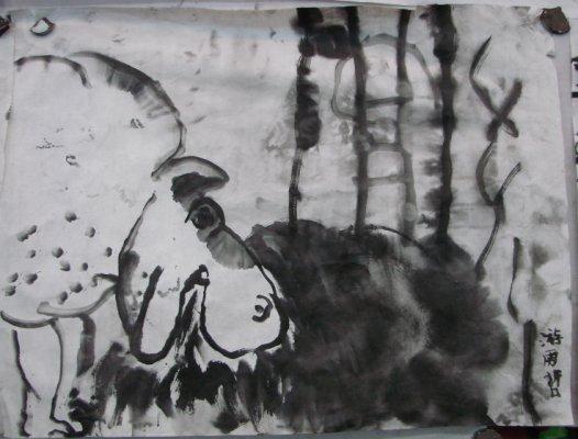 我想当画家——我的理想就是成为中国的达